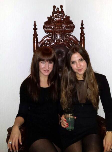Drottningar på tronen ;)