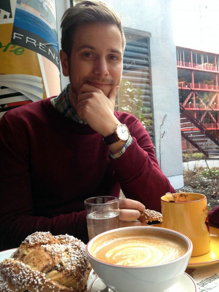 Fika på Café Egoïste i Mood Gallerian