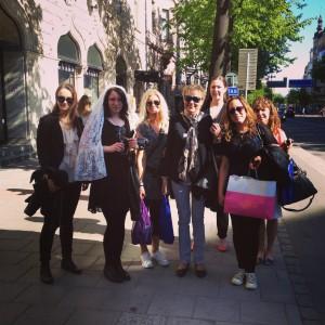 Möhippa i Stockholm