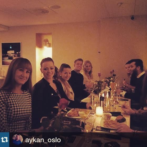 Härliga AFPT-gänget. Foto: aykan_oslo på Instagram